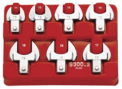 FACOM Modul mit Gabelschlüssel für 1/4 Drehmomentschlüsselsw 8-13 mm, 1 Stück, R.300-2
