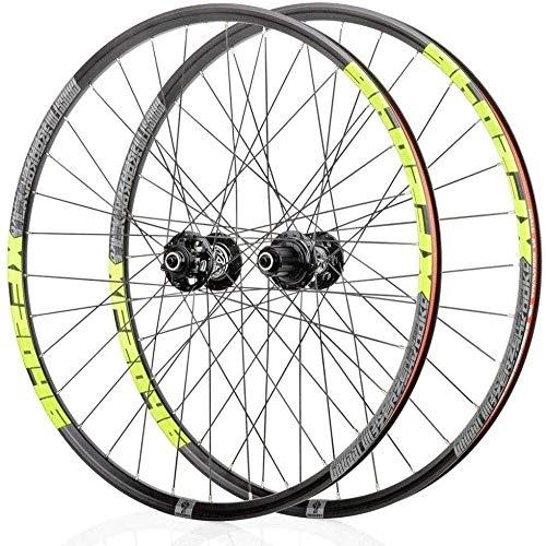 Ruedas De Bicicleta,llantas bicicleta Bicicleta de la rueda trasera 26' 27,5' 29' de aleación de ruedas Mag V- freno / disco de freno de llanta 8,9,10,11, velocidad rodamientos sellados Eje de liberac