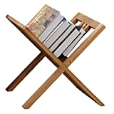 ChenCheng Bookshelf - Floor Folding Bookshelf Magazine Zeitungsablage Bildregal Datenregal Daily Necessities