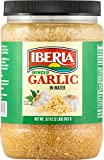 NO MORE MINCING OR CHOPPING: Featuring a wholesome flavor and authentic taste, Iberia garlic in water features a more mild taste than comparable garlic packed in oil. VERSATILE AND CONVENIENT: Perfect for bringing true Italian elements to any pasta d...
