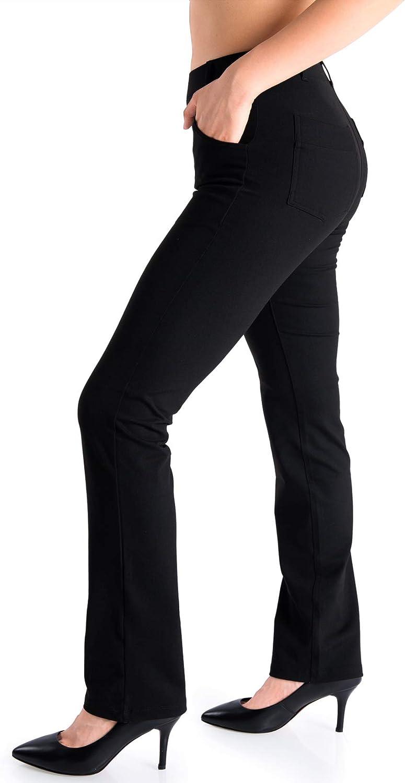 Yogipace Belt Loops Women's Petite Ranking TOP7 Regular Popular shop is the lowest price challenge Tall Yog Straight Leg