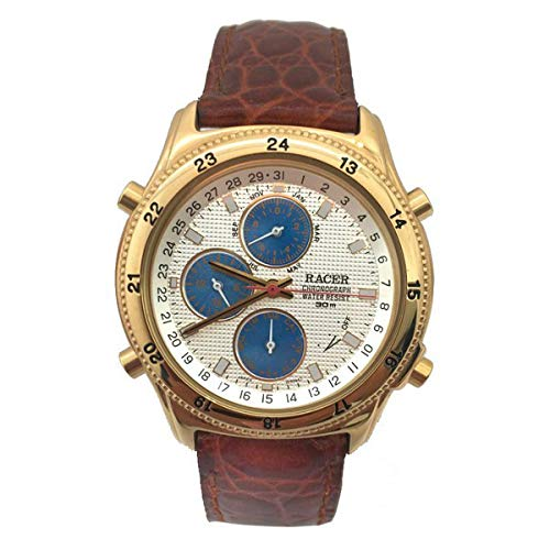 Racer Reloj Analog-Digital para Mens de Automatic con Correa en Cloth S0317344