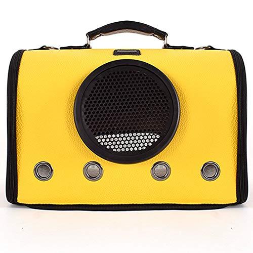 Tragetasche aus Schultergurt Praktische Tasche Atmungsaktive Weltraumtasche Faltbare Handtasche (Farbe : Gelb)
