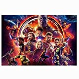 CXF Marvel The Avengers Puzzles, Captain America Comics Hulk-Film-Plakat Holz Puzzles for Erwachsene...