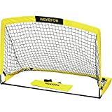 WEKEFON Soccer Goal 5' x 3.1' Portable Soccer Net with Carry Bag for Backyard Games and Training for...