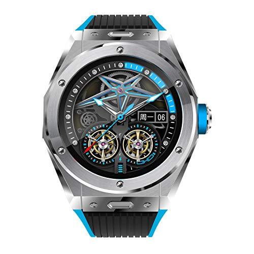 Smartwatch, Reloj Deportivo De Llamada Bluetooth Con Pantalla Táctil 1,28 '', Rastreador De Actividad Con Frecuencia Cardíaca, Reloj Deportivo Inteligente Para Hombres, Mujeres, Android IOS,Plata