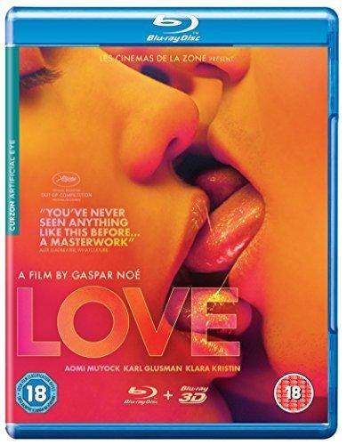 Love (2015) (3D & 2D) [ Origen UK, Ningun Idioma Espanol ] (Blu-Ray)
