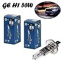 2x General Electric GE H1 55W 12V P14,5s 50310/1u Original High Tech Weiß White Ersatz Scheinwerfer Halogen Auto Lampe - E-geprüft