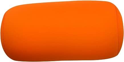 Uminilife Mini Nackenrolle mit elastischen Mikroperlen 31/x/17/cm bietet Komfort auf Reisen Orange