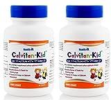 Healthvit Calvitan-Kid Kid's Calcium with Vitamin d3-60 Tablets (Pack of 2)