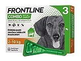 Frontline | Combo Spot On Cani | Protezione da pulci, zecche, uova e larve di pulci | 3 Pi...