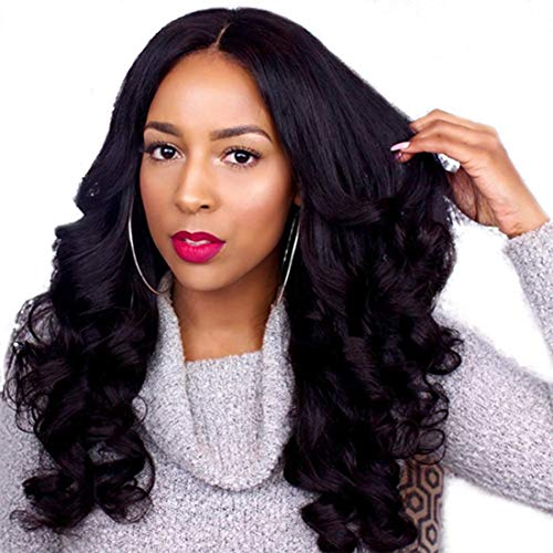 Premier 360 Lace Frontal Wigs Human Hair Loose Wave Wigs with Baby Hair Brazilian Remy Human Hair Best Hair 360 Wigs for Black Women with 150% Density Pre Plucked Hairline 16 inches Natural Color