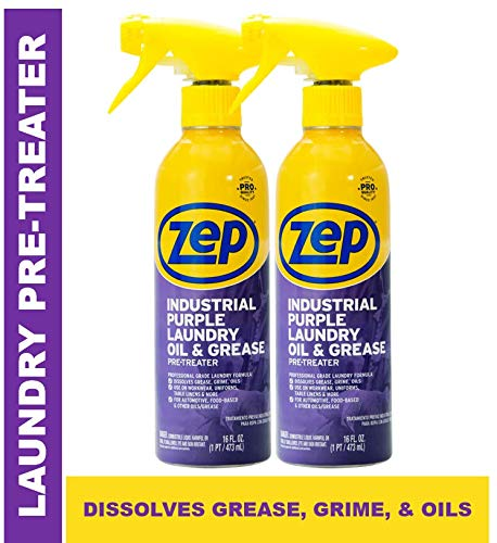 Zep Industrial Purple Laundry Oil Grease Stain Lifter