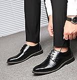Zoom IMG-1 scarpe uomo pelle brogue stringate