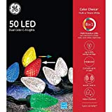 GE - Color Choice C9 50 LED Dual Color Christmas...
