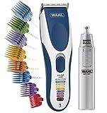 Wahl Hair Clippers para hombre, color Pro inalámbrico cabeza afeitadora para hombres con guías de corte codificadas por colores y recortadora de pelo para nariz húmeda/seca para hombres
