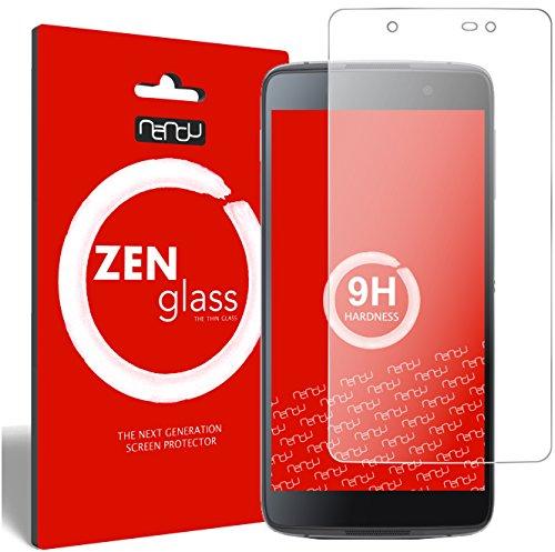 ZenGlass Flexible Glas-Folie kompatibel mit BlackBerry DTEK50 Panzerfolie I Bildschirm-Schutzfolie 9H