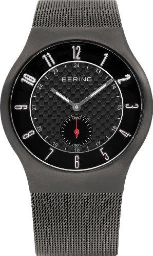 Bering Slim Radio Collection Reloj radiocontrolado para Hombres Reloj Radio-controlado Muy Llano