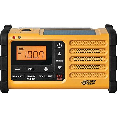 SANGEAN MMR-88 AM/FM Weather Crank Radio with USB PET2