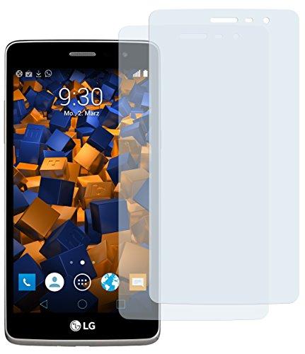 mumbi Schutzfolie kompatibel mit LG Bello 2 Folie klar, Bildschirmschutzfolie (2x)