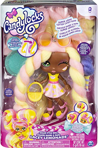 Candylocks Lacey Lemonade haarspelpop, ca. 18 cm