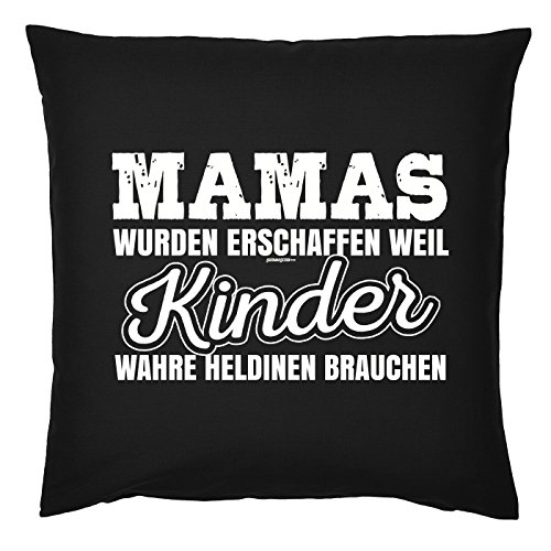 Art & Détail T-shirt Coussin : Maman Mom Fête des Mères – Mamas ont été créé parce que les enfants vraie heldinen avons besoin de – Comme Présent