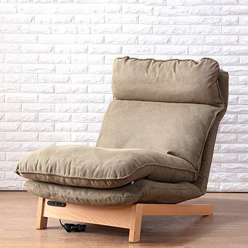 no brand Chaise Longue Chaise Longue Multifonction Chaise Pliante de Dossier détachable (Couleur, Brun Clair, Taille, Chaise + selles),Bronzage,Chaise + Tabouret