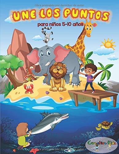 Une Los Puntos: 50 Imágenes Ocultas Para Colorear Del Mágico Mundo Animal. Unir Numero Para Niños 5-10 Años.
