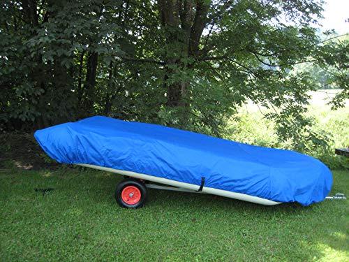 VIAMARE Unisex – volwassenen Persenning 262 x 158 cm afdekking voor opblaasbare boot, blauw