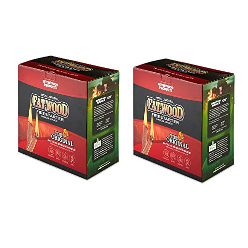 Save %52 Now! Betterwood Products 9987 Fatwood Natural Pine 5 Pound Wood Firestarter (2 Pack)