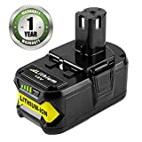 RB18L50 Remplacement pour Ryobi 18V 5000mAh Lithium-ion Remplacement de Batteries One...