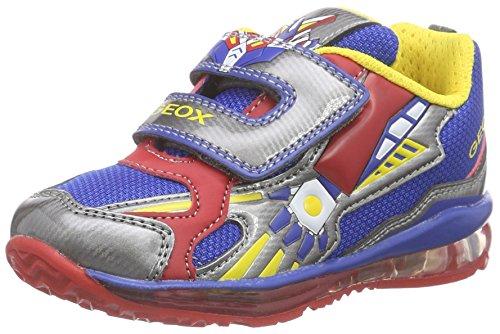 Geox B Todo A, Chaussures Bébé marche bébé garçon - Multicolore (Royal Red C0833) - 24 EU