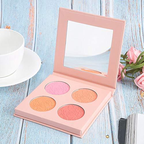 Paletas de maquillaje de cara de lustre de perla, 10.3 x 10.5cm Face Skin Highlighter Powder Powder Maquillaje Pallet