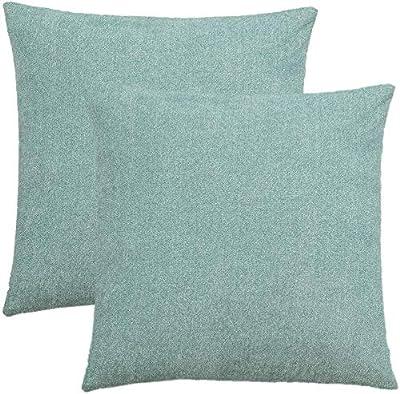 Kissenhülle aus S4Sassy Graue Blatt gedruckt quadratische Throw Pillow Case