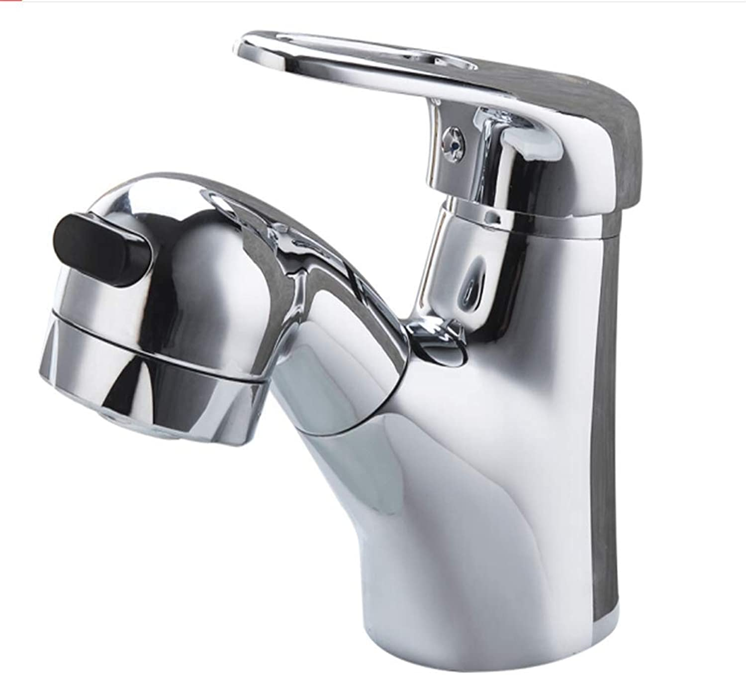 Kitchen Taps Faucet Modern Kitchen Sink Taps Stainless Steelcopper Draw Faucet Washing Basin Cold and Hot Facebasin Faucet Flower Sprinkler