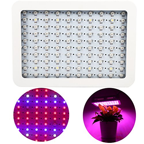 1000 W LED plantenlamp, verlichting voor de tuinbouw, paneel, groeilamp, met IR-licht, voor planten, groenten, bloemen, binnen
