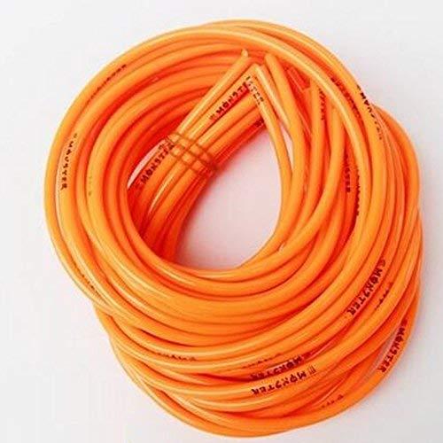 Selotrot Colorido Gasolina Combustible Manguera de Combustible Gas Aceite Tubo - Naranja