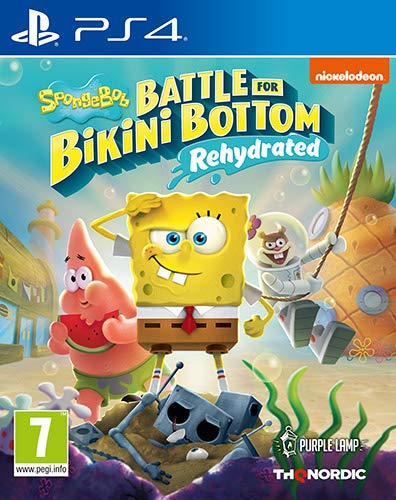 Spongebob SquarePants: Battle for Bikini Bottom - Rehydrated (PS4) - [AT-PEGI]