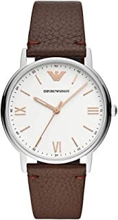 Emporio Armani Men's Three-Hand Stainless Steel Watch AR11173
