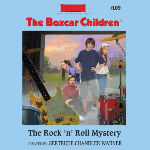 The Rock 'n' Roll Mystery audiobook cover art