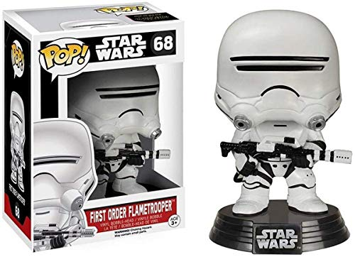 Funko – Figura Pop de Star Wars:EP7, First Order Flametrooper