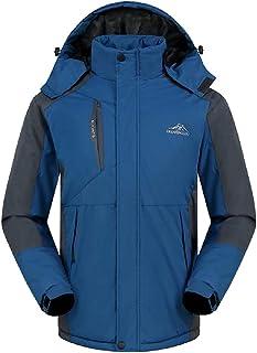 XINHEO Mens Thicken Fleece Oversized Snow Ski&Snowboard Brumal Bugaboo Jacket