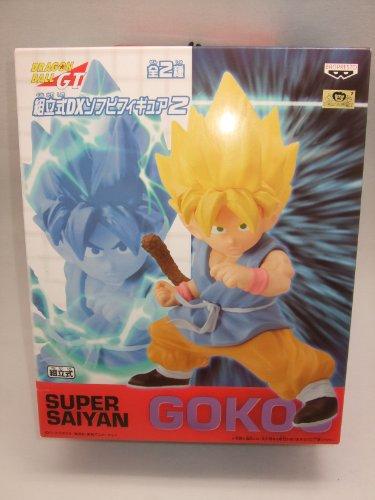 Dragon Ball GT pr?fabriqu? DX vinyle souple Figure 2 Super Saiyan Goku (Japon import / Le paquet et le manuel sont ?crites en japonais)