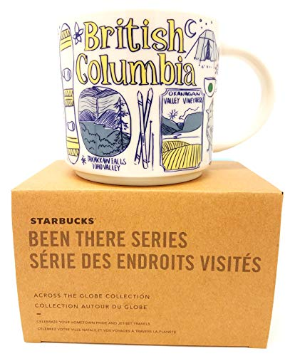 Starbucks British Columbia Been There Serie Collection 14oz Tasse