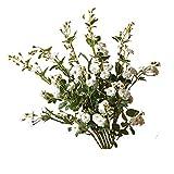 YYSYN Rosas Artificiales, Tallo Largo De Seda, Flores Falsas para Ramos De Novia, Boda, Hogar, Fiesta, Oficina, Hotel, Centros De Mesa, Arreglos Florales