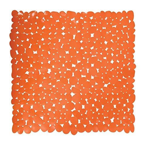 MSV 143621 Tapis de Bain, Orange, Unique