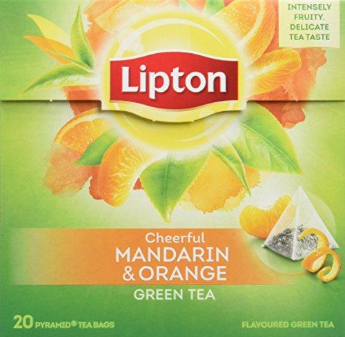 Lipton - Te Verde Con Mandarina 20X1.8 gr - [Pack de 12]