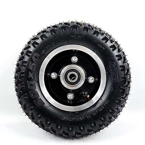 L-faster Rueda neumática de 200x50 con neumático todoterreno para scooter de montaña y monopatín de montaña