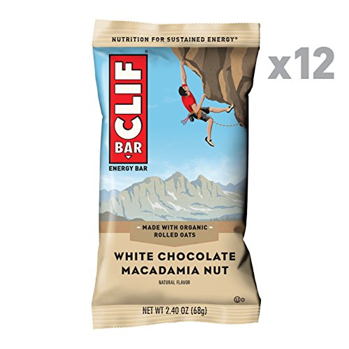 CLIF BAR - Energy Bars - White Chocolate Macadamia...