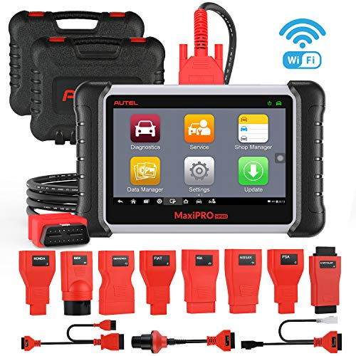 Buy Autel MaxiPRO MP808K Automotive Diagnostic Scan Tool with Key Fob Programming, Active Tests, OE-...